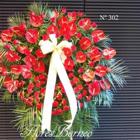 200€ - Corona de Flores - Palma de Mallorca - Envio gratuito a Palma