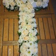 150€ - Cruz de Flores - Flores para difunto en Palma de Mallorca