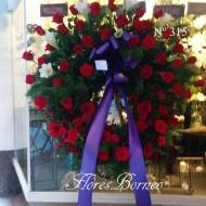 150€ - Corona de Flores - Palma de Mallorca - Envio gratuito a Palma